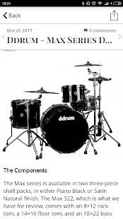 Modern Drummer Magazine - náhled