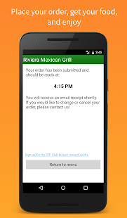 Riviera Mexican Grill- screenshot thumbnail