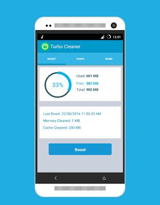 Turbo Cleaner - Boost  RAM - screenshot