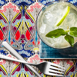 Citrus and Mint Champagne Punch.