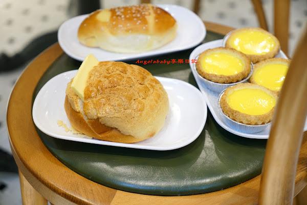 板橋排隊美食 來自香港的泰昌餅家 地表最強蛋撻 雞尾包 冰火菠蘿油 干炒牛河 內有菜單