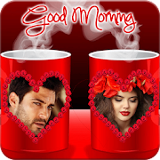 Coffee Cup Dual Photo Frames APK for Bluestacks