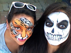 Photo: Face Painting by Veronica, Riverside, ca. Call to book Bibi today: 888-750-7024