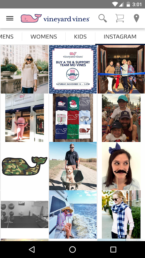 vineyard vines- screenshot