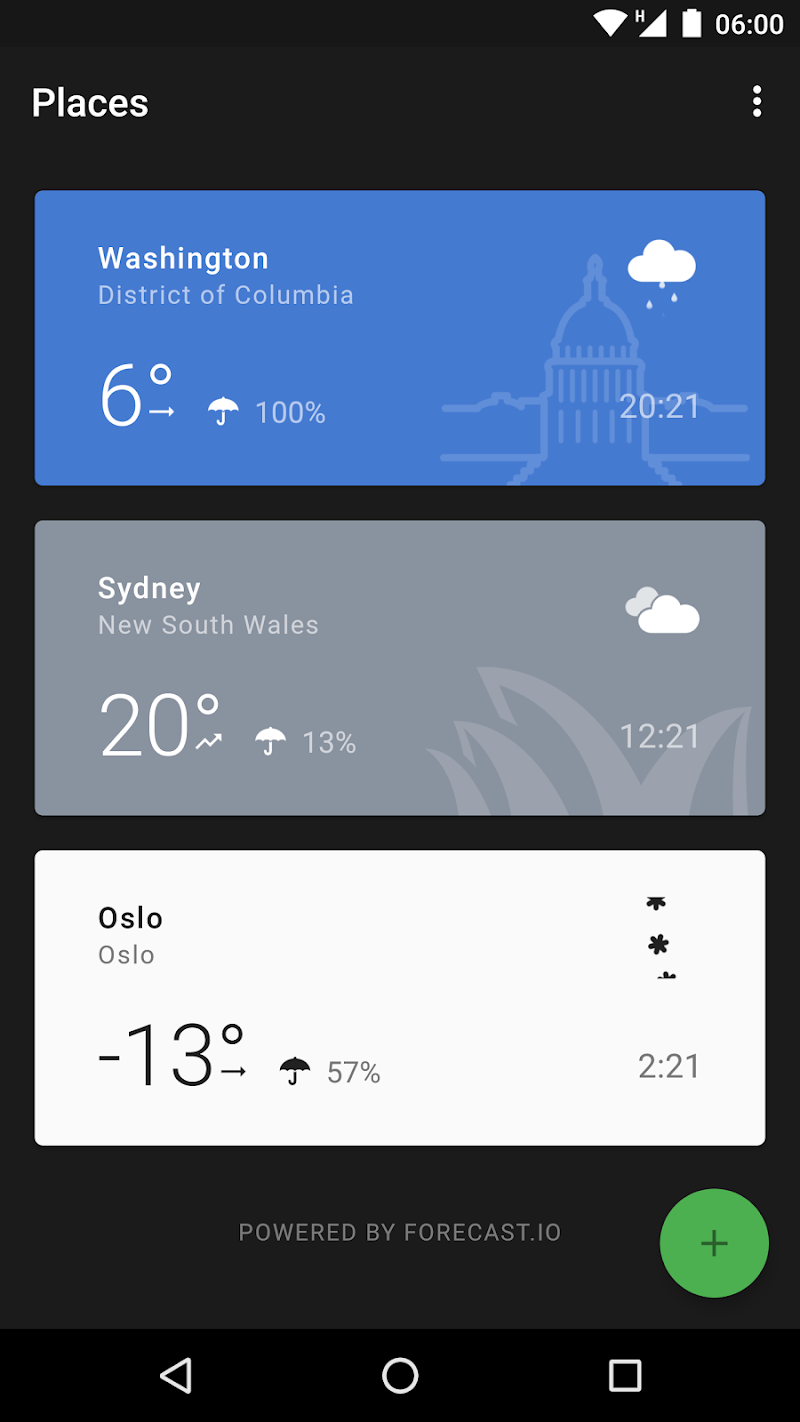 Weather Timeline - Forecast Screenshot 0