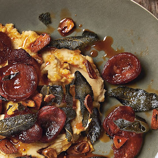 Butterbean Puree With Sage And Chorizo