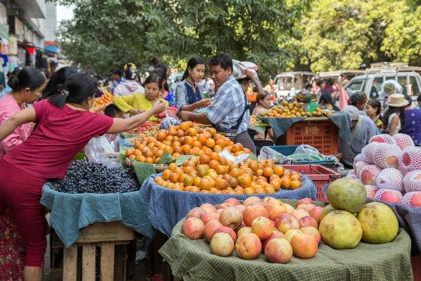 Zegyo Mandalay Market