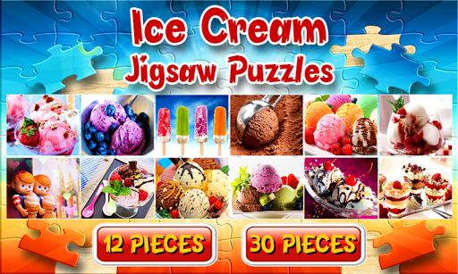 アイスクリームジグソーパズルゲーム無料