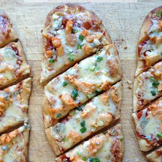 Buffalo Chicken Flatbread Pizza Recipe