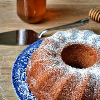 Honey and Vanilla Bundt Cake.