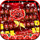 Red Lux Rose Keyboard Background Download on Windows