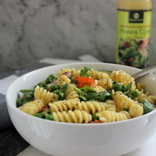 Low Fat Honey Dijon Pasta Salad
