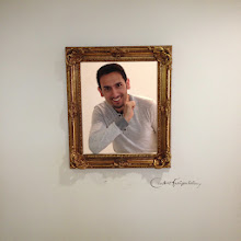 Photo: At one of the exhibits in the museum you could pretend to be in a portrait (photo credit: Raj Dhar)
