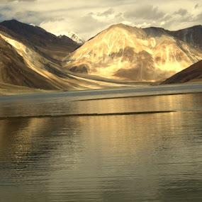 Morning Walk by Abhishek Majumdar - Landscapes Mountains & Hills