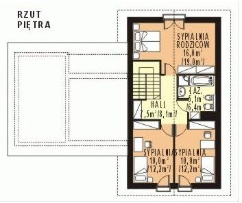 WB-3983 - Rzut piętra