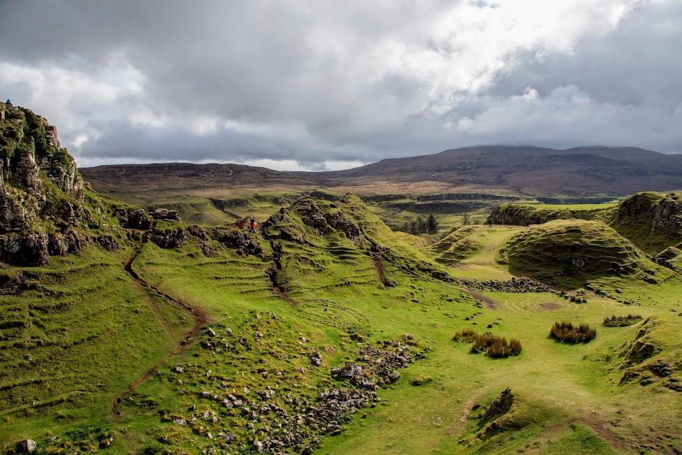 Szkocja, Fairy Glen, atrakcje Wyspy Skye