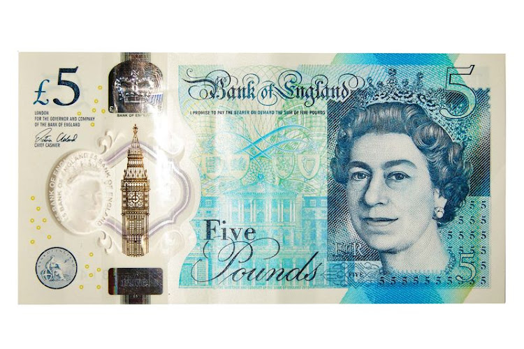 5 pound The Bank of England's first polymer note entered ­circulation in September. Bank Governor Mark Carney took one to a food market to dip in a vat of curry, demonstrating it was waterproof. The food-related stunt proved inauspicious when the bank acknowledged the bills were made with trace amounts of animal fat. A Change.org petition to ban the component received more than 52,000 signatures within 24 hours.