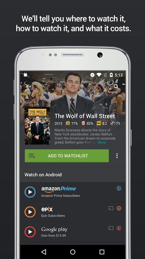 Yidio: TV Show & Movie Guide- screenshot