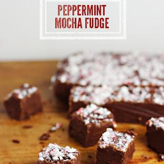 Peppermint Mocha Fudge