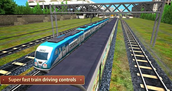 Indian Metro Train Simulator 12