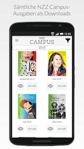 NZZ Campus screenshot 0