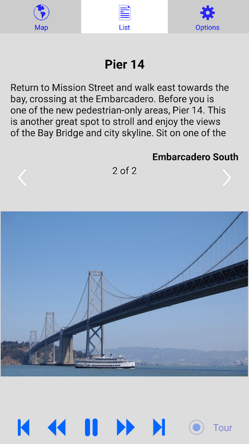 San Francisco Embarcadero Tour- screenshot