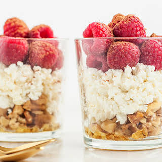 Cottage Cheese Breakfast Bowl.
