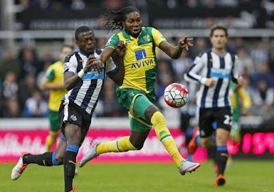 Mbokani scoorde, maar Newcastle wint wel