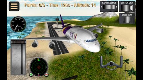 simulator penerbangan: pesawat Mod