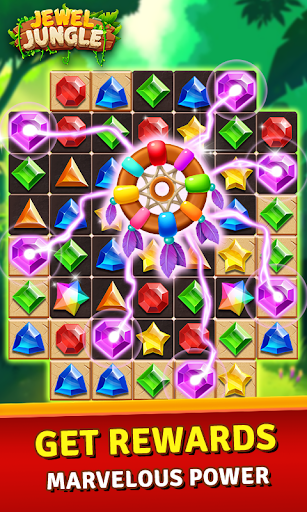 Jewels Jungle Treasure : Match 3  Puzzle apktram screenshots 15