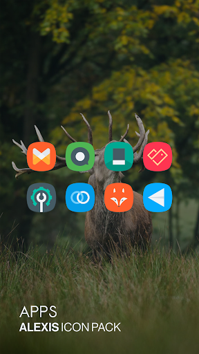 Alexis Icon Pack: Clean and Minimalistic 9.8 screenshots 3
