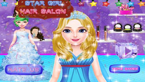 Star Girl Hair Salon 1.3 screenshots 1