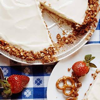 Pretzel Ice Cream Pie
