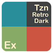 Tzn Retro Dark Theme For ExDialer Android APK Download Free By M.Pecco
