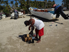Photo: Jako dalši v pořadí bylo plážové město Puerto Escondido.