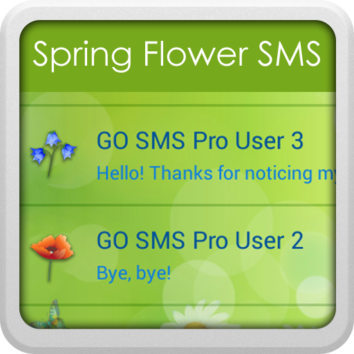 GO短信加强版Sprinf花 LOGO-APP點子