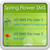 GO SMS Pro Spring Flowers