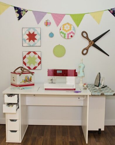 Arrow Ginger Sewing Table from Wayfair