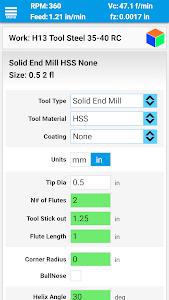 FSWizard Machinist Calculator 1 507 + (AdFree) APK for Android