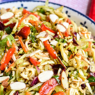 Ramen Noodle Salad (with Broccoli Slaw).