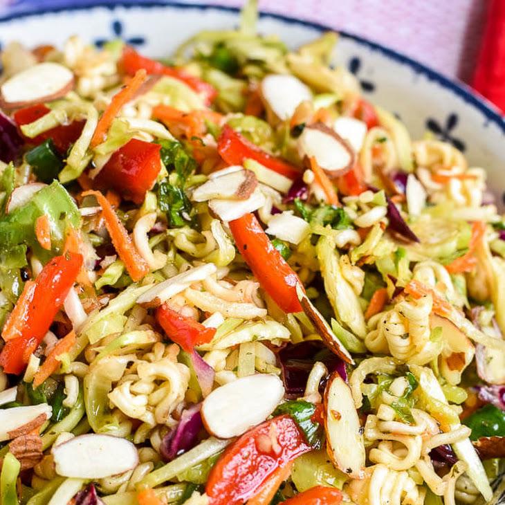 Ramen Noodle Salad (with Broccoli Slaw) Recipe