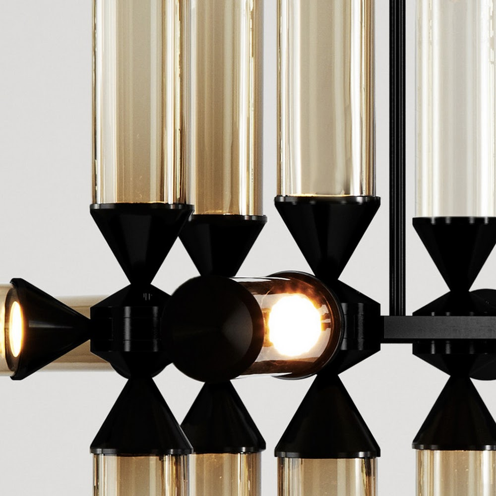 CASTLE CHANDELIER 18 LIGHTS HORIZONTAL | DESIGNER REPRODUCTION