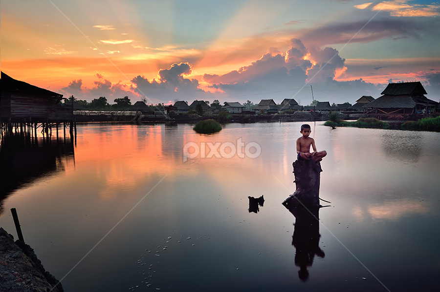 son of the light by Dody Herawan - Landscapes Sunsets & Sunrises ( responsible experiential travel, travel destinations, culture, travel, ethnicity, ethnic, food, traditional medicine, sustainable living, social, people, traditional environmental knowledge, anthropology, conservation, environment, indigenous culture )