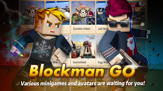 Blockman Go: Free Realms & Mini Games 1.9.27