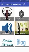 Pastor E.A. Adeboye Messages screenshot thumbnail