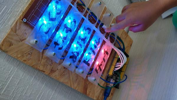 ポキオ Arduino Todo カンバン Adafruit Neopixel