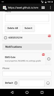 SMS Gate - náhled