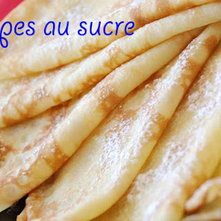 Crêpes au sucre (Sugar pancakes)