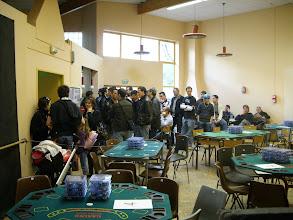 Photo: Arrivée des 53 joueurs qui attendent de connaître leur place