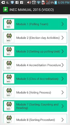 INEC MANUAL 2015 VIDEO